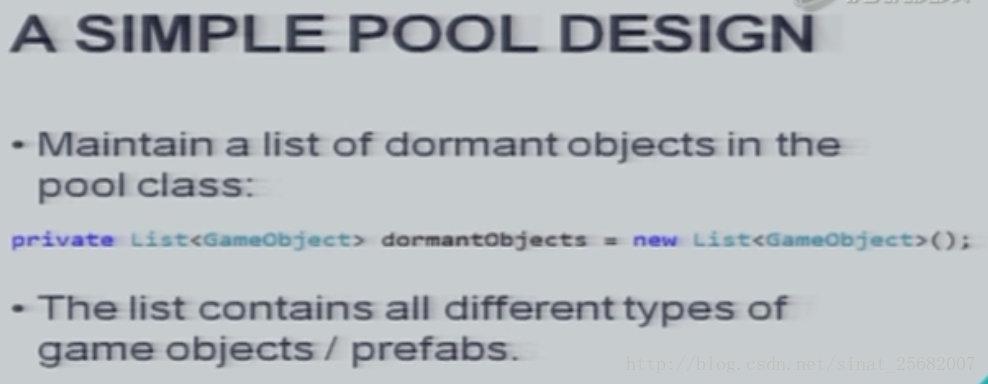 Unity 游戏框架搭建 2019 (六十) PoolManager